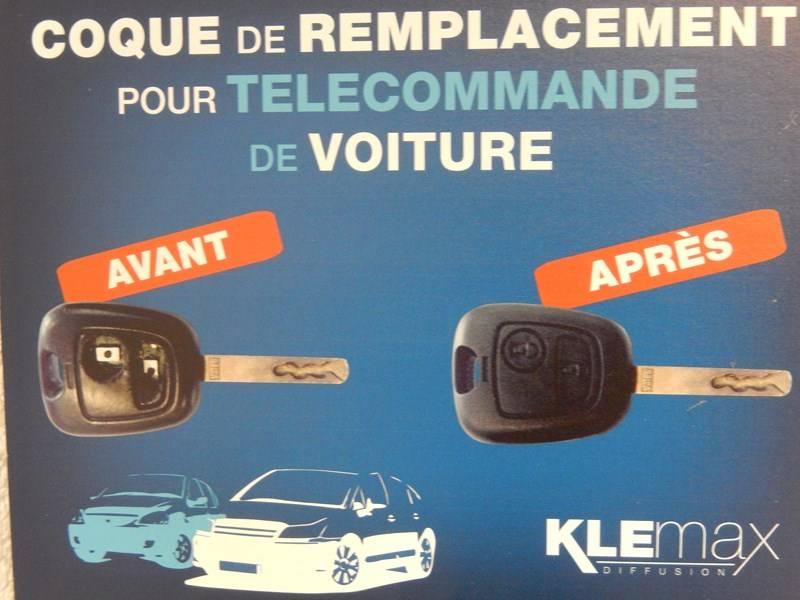 Remplacement de votre coque de telecommande de voiture a for Coque telecommande garage