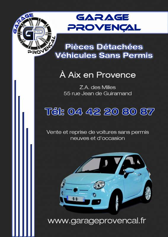 Pieces detachees voiture sans permis bouches du rhone garage proven al - Garage volkswagen pieces detachees ...